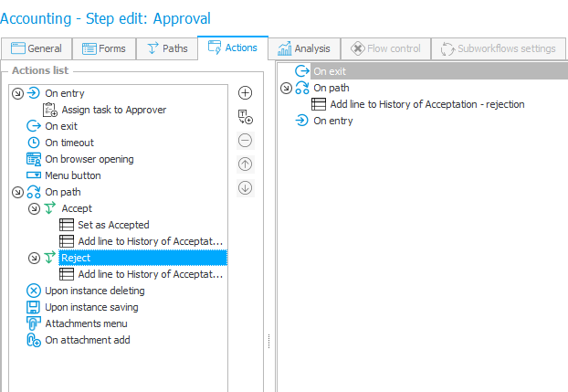 The image shows the Approval step